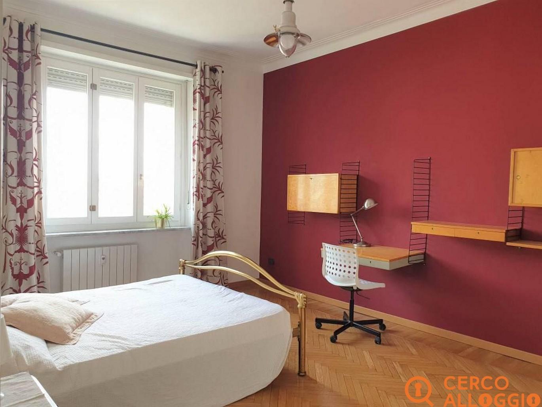 Camere singole in appartamento panoramico